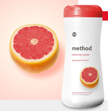 Method Cleaning Wipes