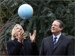 Richard Branson & Al Gore